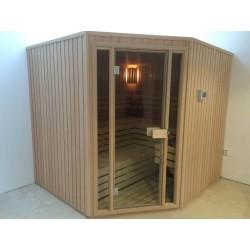 Finská sauna z hemlocku