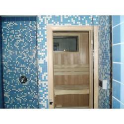 Vestavěné sauny - sauny do obezděného prostoru
