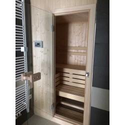 Finská sauna - severský smrk